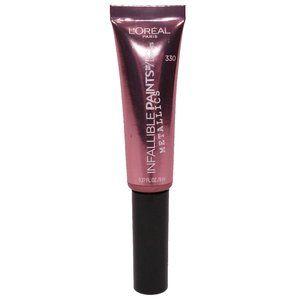 L'Oreal Infallible Paints Metallics Lipstick 330